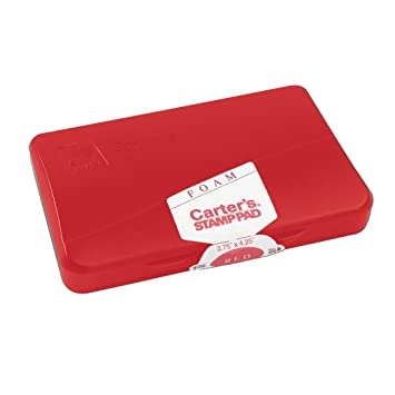 Amazon.com: Carters (R) sello de espuma pad, Rojo, Tamaño 1 ...
