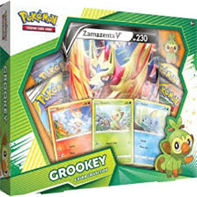 Pokemon 728192511868 TCG: Galar Collection Grookey Box | 4 Booster Pack: Toys & Games [5Bkhe1401885]