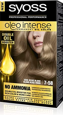 Syoss Color Oleo Intense 7-58 Cool Beige Rubio – 1 set ...