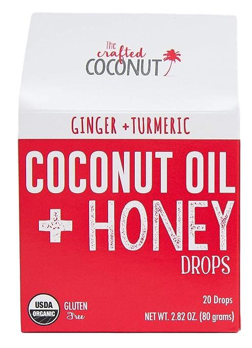 Amazon.com: Orgánico Aceite de Coco y miel gotas..., 20 ...