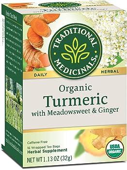 Traditional Medicinals Organic Turmeric Tea