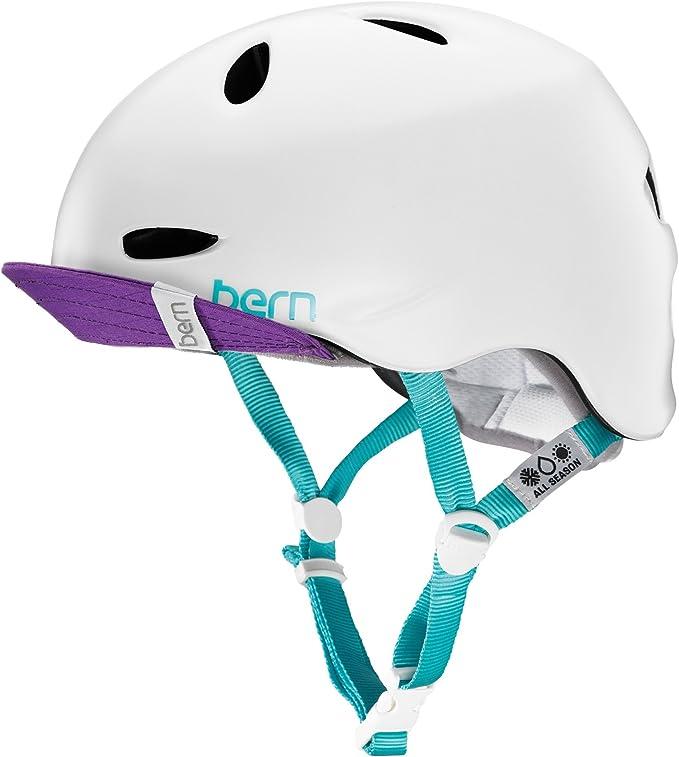 Bern - Casco para Bicicleta Mujer - Modelo: Berkeley Satin Color ...