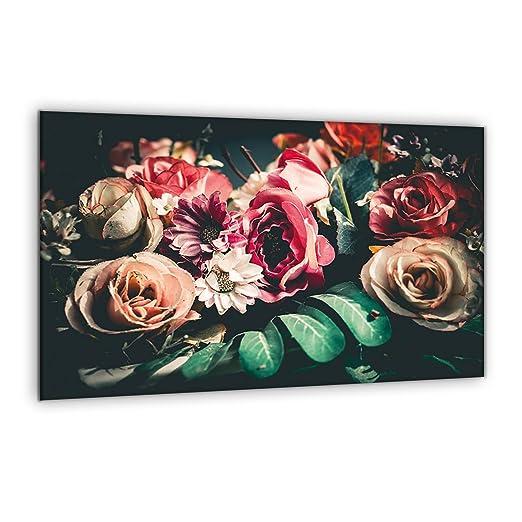 Compra decorwelt | para Cubrir la vitrocerámica Flores ...