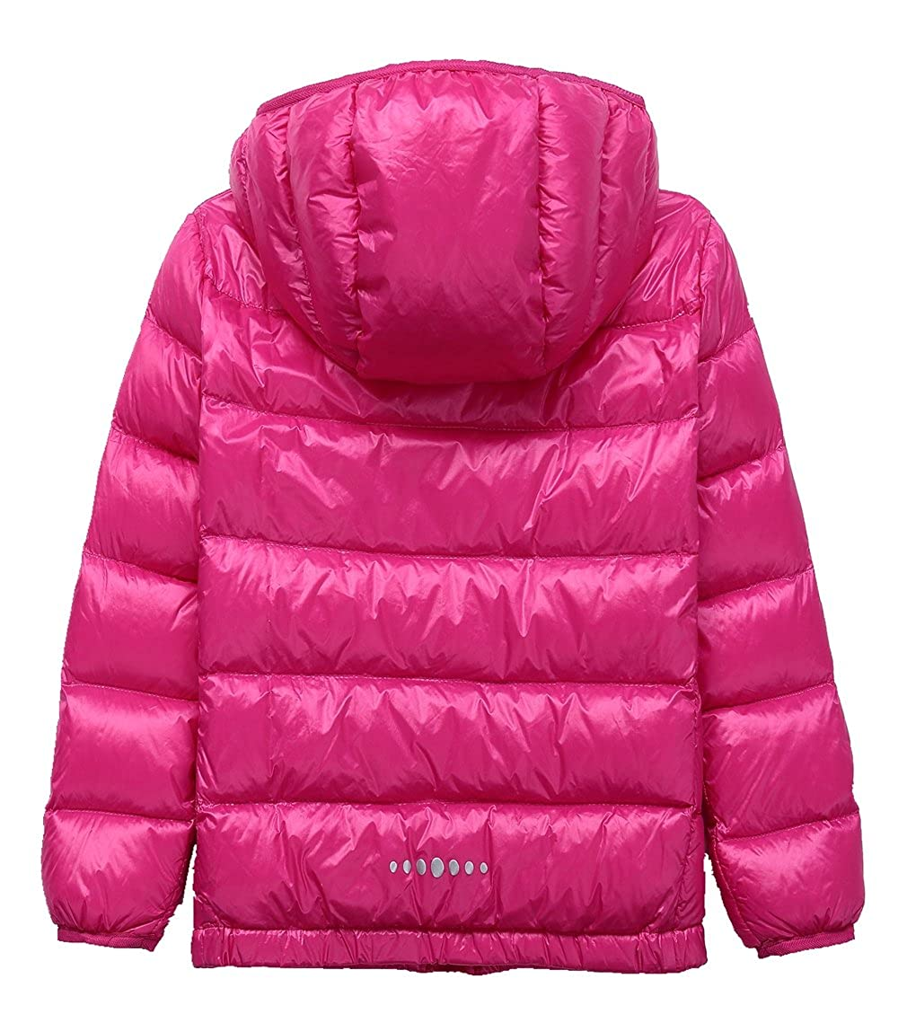 LANBAOSI Kids Winter Lightweight Puffer Jacket Boys Girls Down Jacket