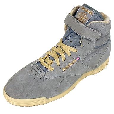 06bd54662ecf Mens Reebok Exofit Hi Clean Vintage Trainer Suede High Tops Top Trainer  Shoe 9.5