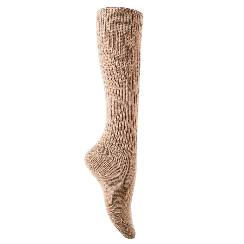 AATMart Big Girls 1 Pair Knee-High Knitted Wool Socks stripped FS05 Size XL Beige
