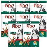 Fido Picnic Festival Friandises pour chien Bœuf, Poulet & Agneau 126 g 15 bâtonnets - Lot de 8 (120 bâtonnets)