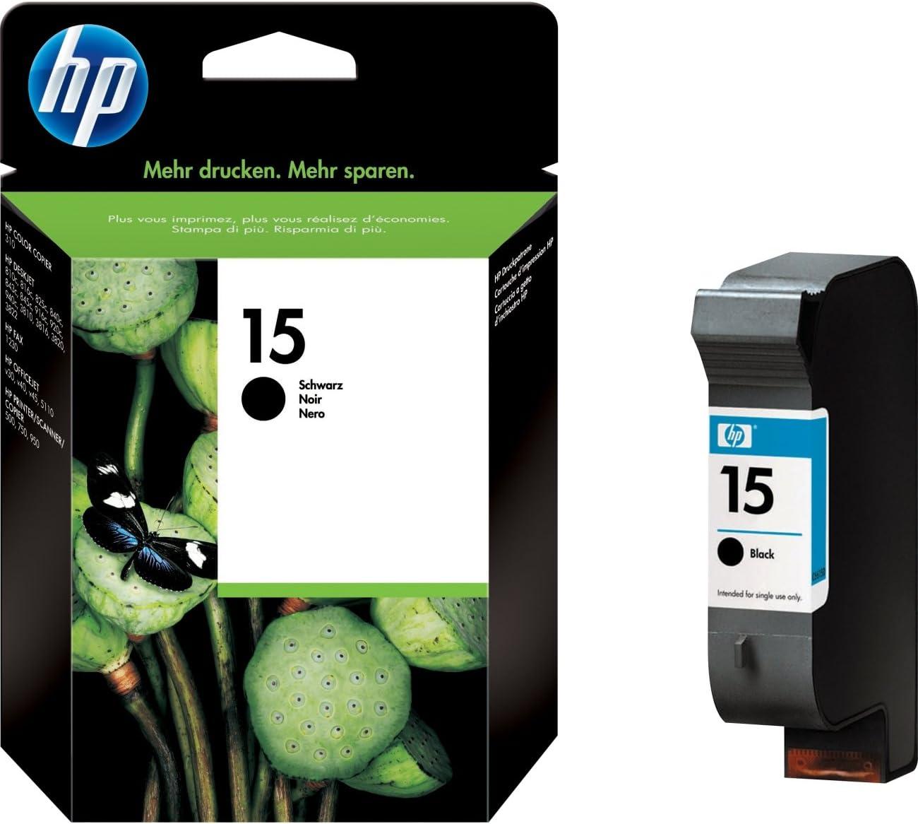 Hp Deskjet Tinte C6615d Schwarz Dj 840c Psc 500 Bürobedarf Schreibwaren