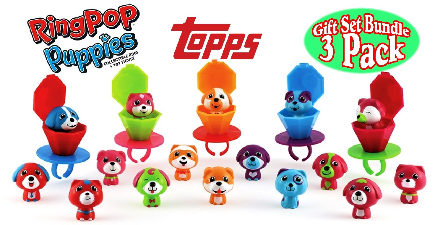 Ring Pop Puppies Series 2 NEW 1,3,5 Packets Bundle