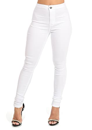 Sexy High Waisted Skinny Color Jeans at Amazon Women's Jeans store