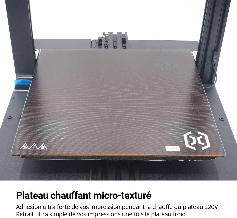 imprimante 3D Artillery SIDEWINDER X1 Version 4.1 Dernier mod/èle Entrep/ôt France 300x300x400mm