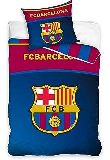 FC Barcelona Bettw/äsche 135x200cm//80x80cm Camp NOU FCB3003-135