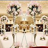 Amazon Com Faybox Wedding Centerpieces Flower Stands Acrylic