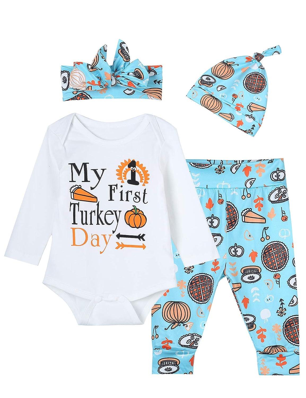 Amazon.com: Juego de 4 piezas para bebés y niñas My First ...