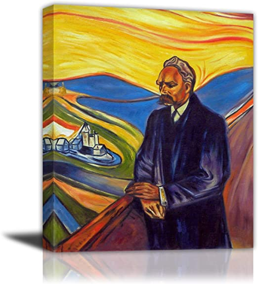 The dance of life Giclee Canvas Print repro Edvard Munch