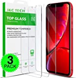 Aslanda Screen Protector for iPhone XR Clear iPhone XR Tempered Glass Screen Protector 2018 with 9H Hardness 99.9% Transparency [3-Pack Green Box] 6.5 inch Clear