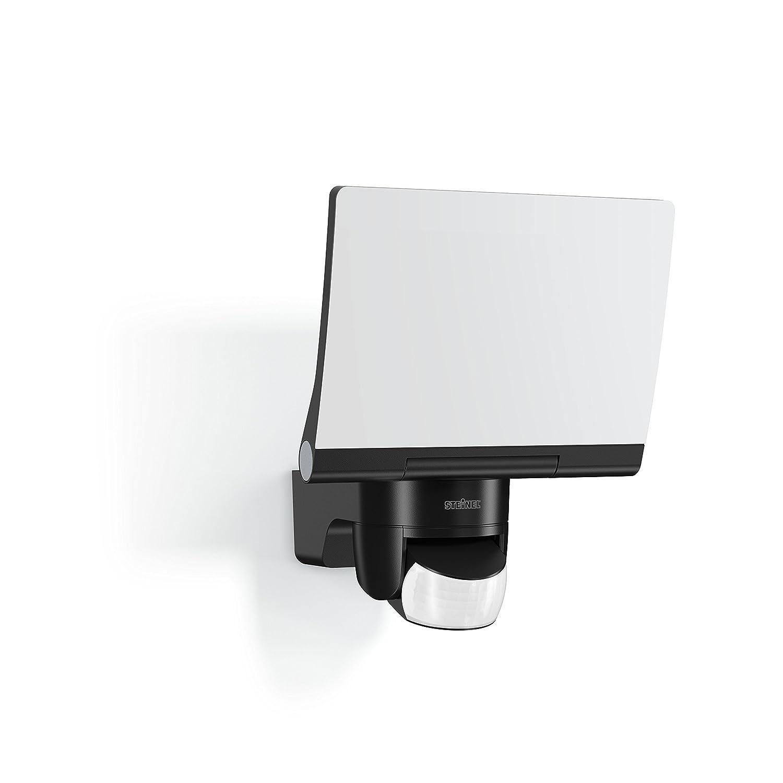 Foco LED para exteriores Integriert 20W Blanco Steinel XLED Home 2 XL sensor de movimiento de 140/° y potencia color negro