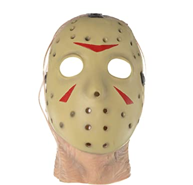 Amazon.com: Traje Yourself Friday The 13th Jason Mask Deluxe ...