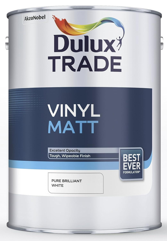 Leyland paints colour chart - Dulux Trade Vinyl Matt Pure Brilliant White 5l