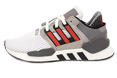 Adidas EQT Support 9118 Ftwr White Hi Res Red Grey