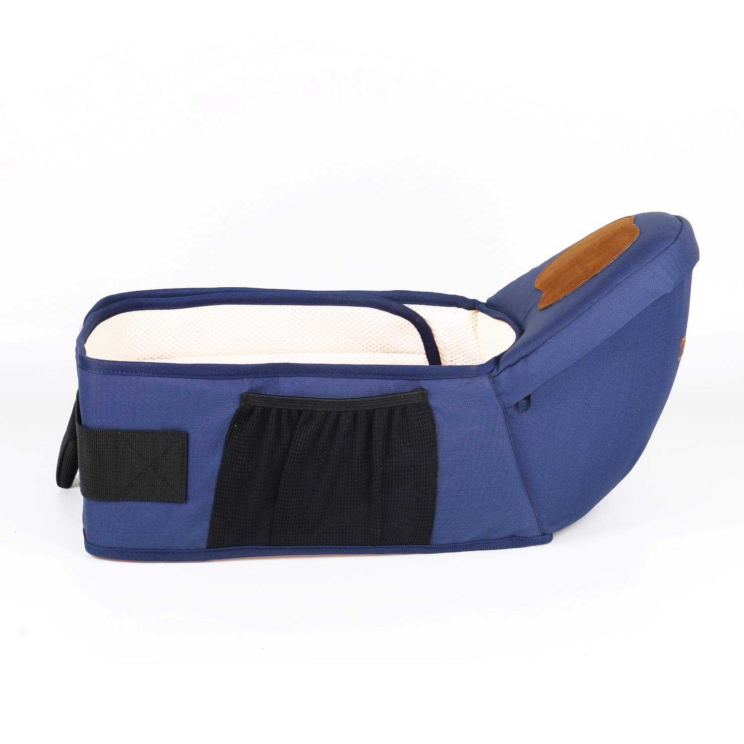 ThreeH Baby Hip Seat Longer Belt 51 Inch Toodler Waist Stool Seat BC30,Blue