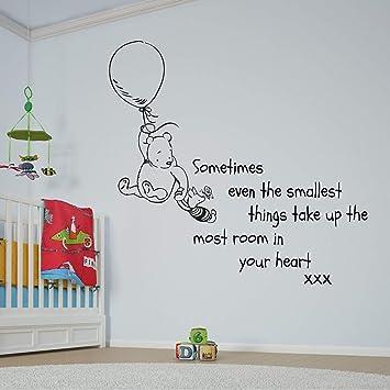 Wandsticker, Vinyl, für Baby- / Kinderzimmer, Motiv: Winnie the Pooh ...