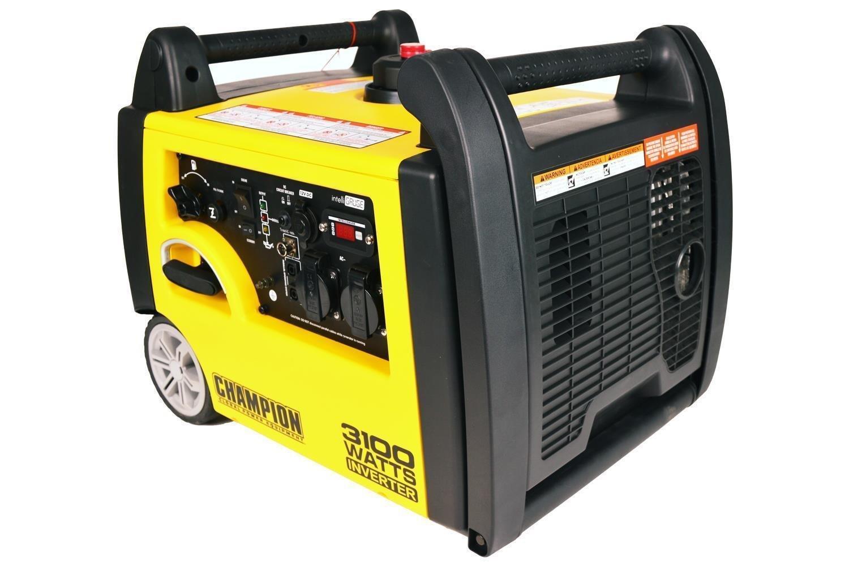 Generator Champion 3100 Watt Inverter Benzin Notstromaggregat Stromerzeuger EU mit Funkstart