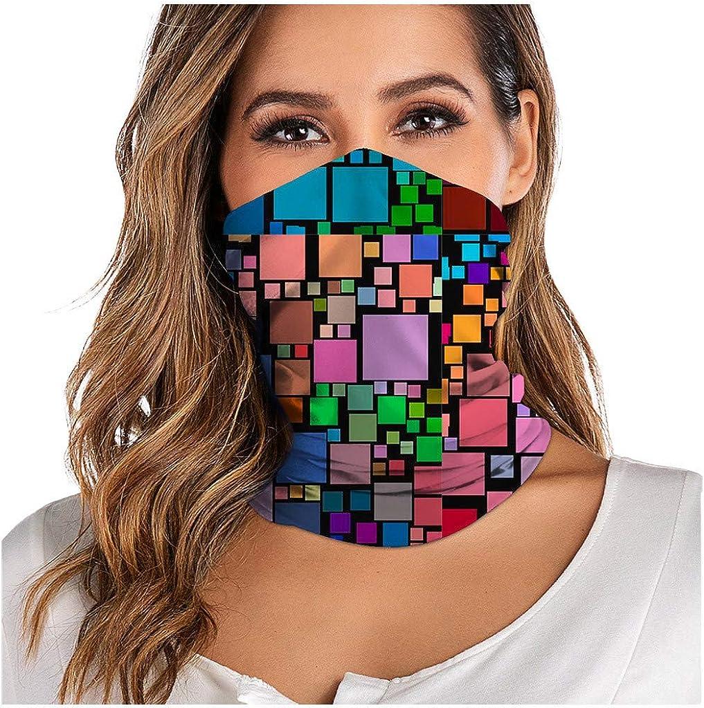 Motorradfahren 1 Multifunktionstuch Nahtloses Halstuch Schlauchtuch 3D Bedruckte Kopftuch Stirnband Motorrad Bandana Outdoor UV Staubschutz f/ür Wandern carol Reiten