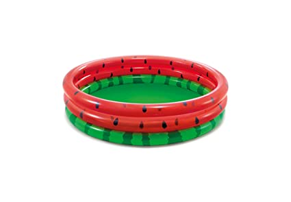 Amazon.com: Intex Watermelon Pool - Piscina infantil redonda ...