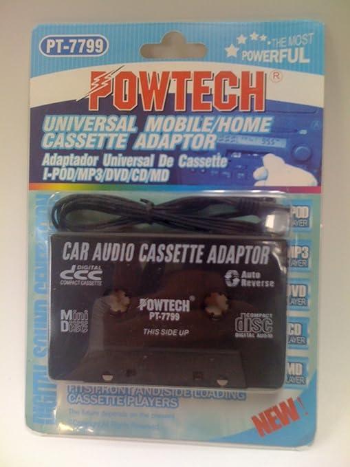 POWTECH Universal Mobile//Home Cassette Adaptor