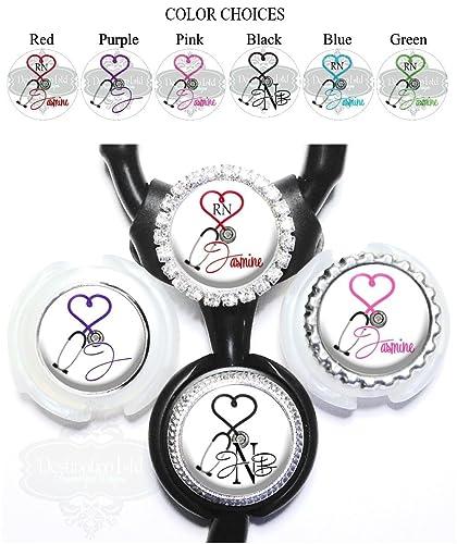 Amazon.com  Personalized Medical Stethoscope Heart Standard or Yoke ... f0701c34802d