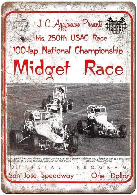 HALEY GAINES JC Agajanian Midget Race San Jose Speedway ...