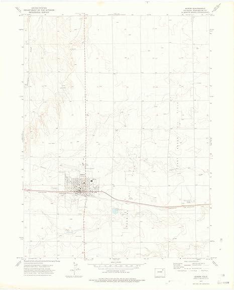 Amazon Com Yellowmaps Akron Co Topo Map 1 24000 Scale 7 5 X 7 5