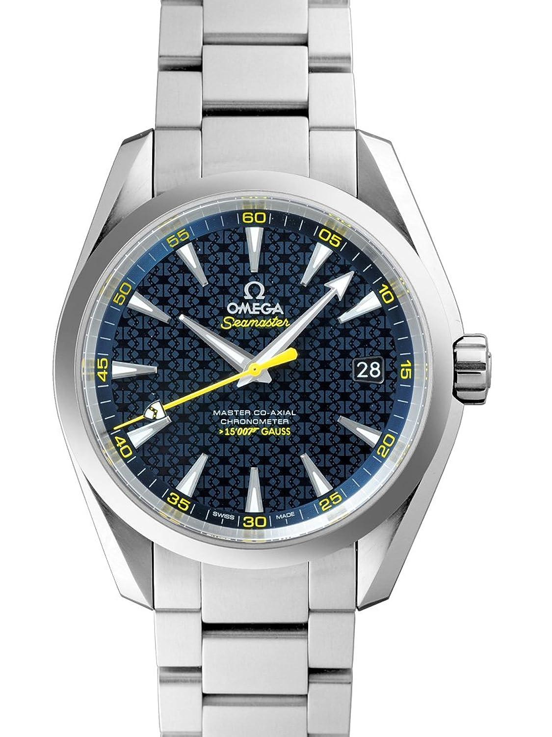 [オメガ] OMEGA 腕時計 アクアテラ ジェームズ・ボンド 007限定