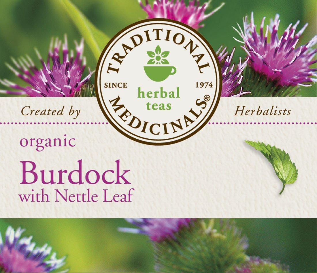 Traditional Medicinals Organic Burdock with Nettle Herbal Leaf Tea, 16 Tea Bags by Traditional Medicinals (Image #5)