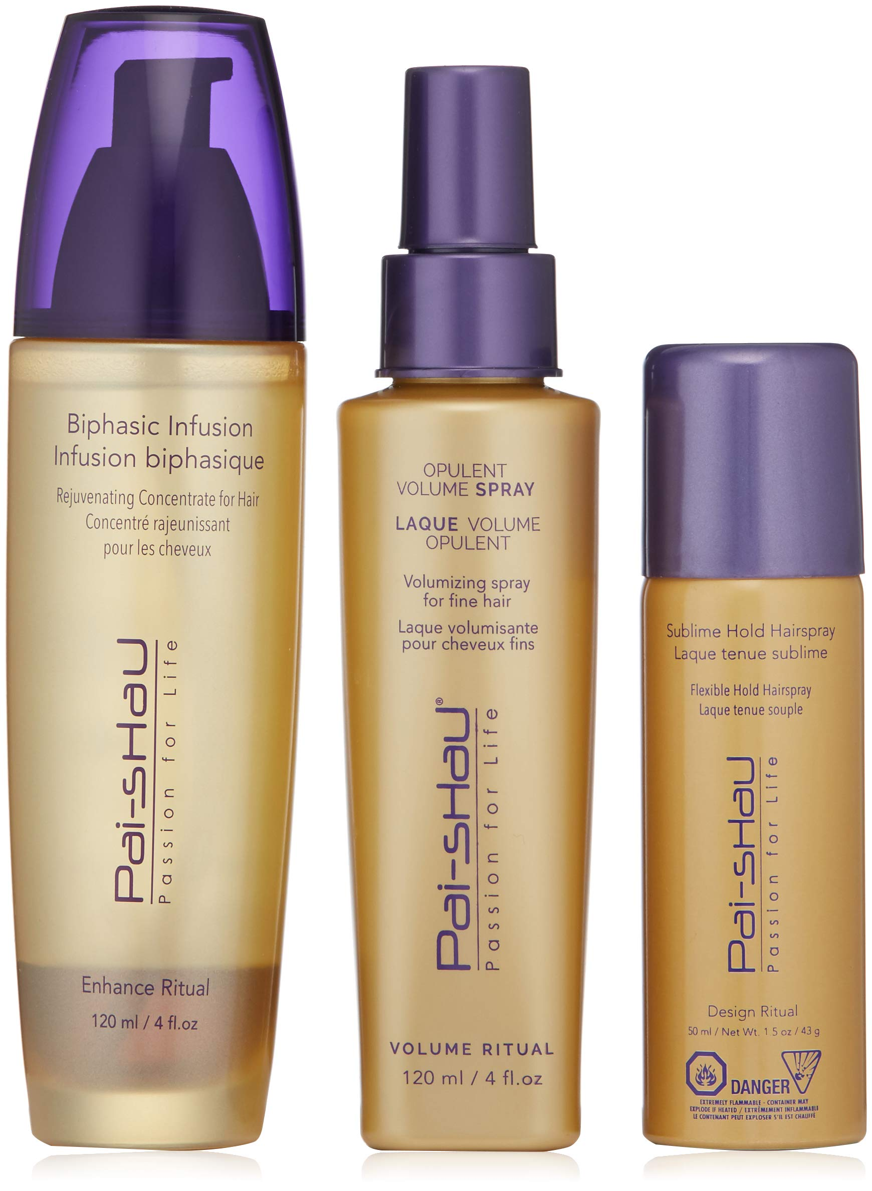 Pai-Shau Biphasic Infusion Sublime Hold Hairspray