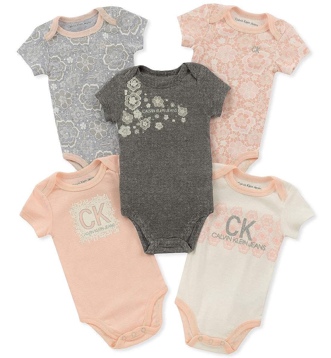 【GINGER掲載商品】 Calvin Calvin Klein Jeans 9 PANTS ベビーガールズ 6 - 9 Months Pink/Brown/Vanilla Pink/Brown/Vanilla B079MQT9L5, 鶴が丘米店:e71cb8a5 --- a0267596.xsph.ru