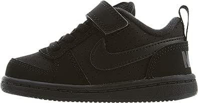 Nike Baby Boys Court Borough Low (TDV) Fashion Shoes, Black/Black