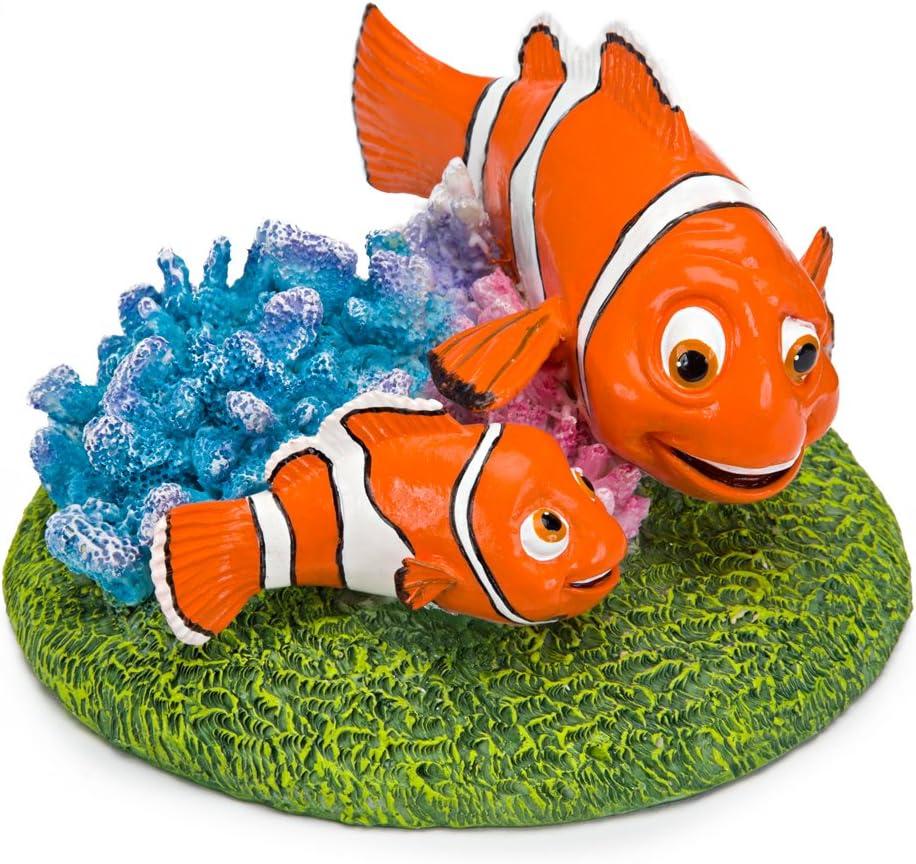 Penn Plax Finding Nemo Resin Ornament, Nemo and Marlin, 6 Inch