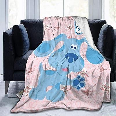 """SuperLee Children's Blue's Clues Dog Flannel Blanket Warm Throw Blanket 60"""" x50 Large Soft Blanket: Home & Kitchen"""