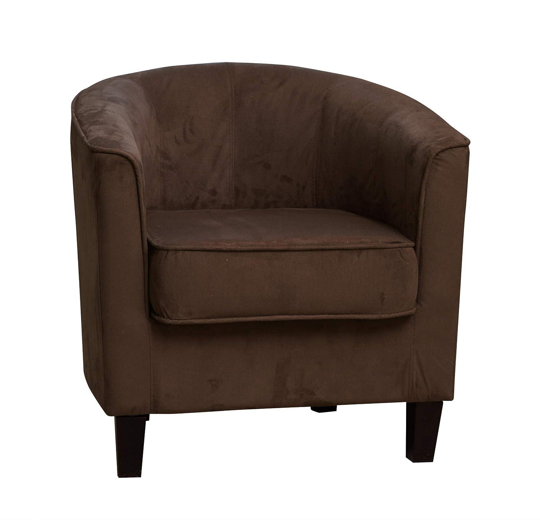 Sofa Collection Belvoir Tub Chair/Armchair Seating, Fabric, Mocha, 66 x 69 x 71 cm 5060363583935