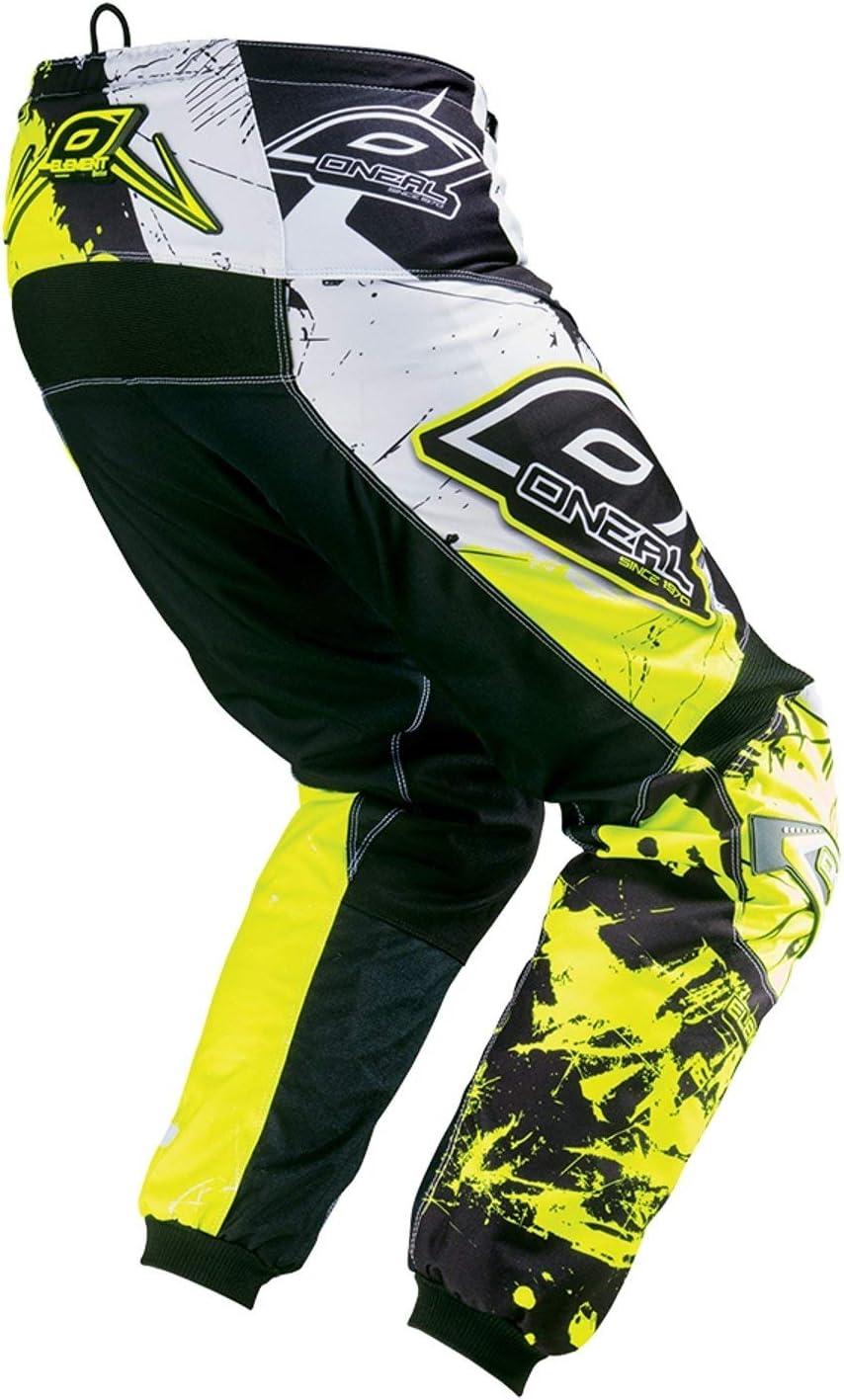 30//46 0124S-6 Gelb ONEAL Herren Motocross Hose Element Shocker