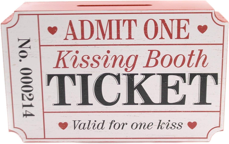 Burton and Burton Kissing Booth Ticket Holder