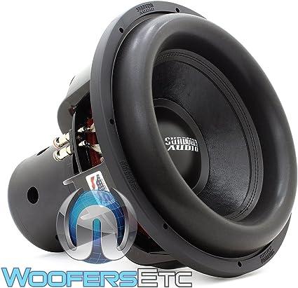 Sundown Audio NS-12 V.4 D2 12 2500 Watt RMS Dual 2-Ohm Nightshade V.4 Series Subwoofer