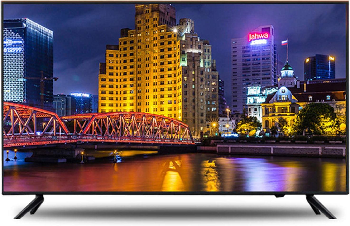 YILANJUN 32/42/46/55/60 Pulgadas UHD TV - Smart TV 4K - Televisor HD [WiFi Incorporado + Protección Ocular + Voz + Proyección Inalámbrica + Pantalla Prueba de Explosiones]