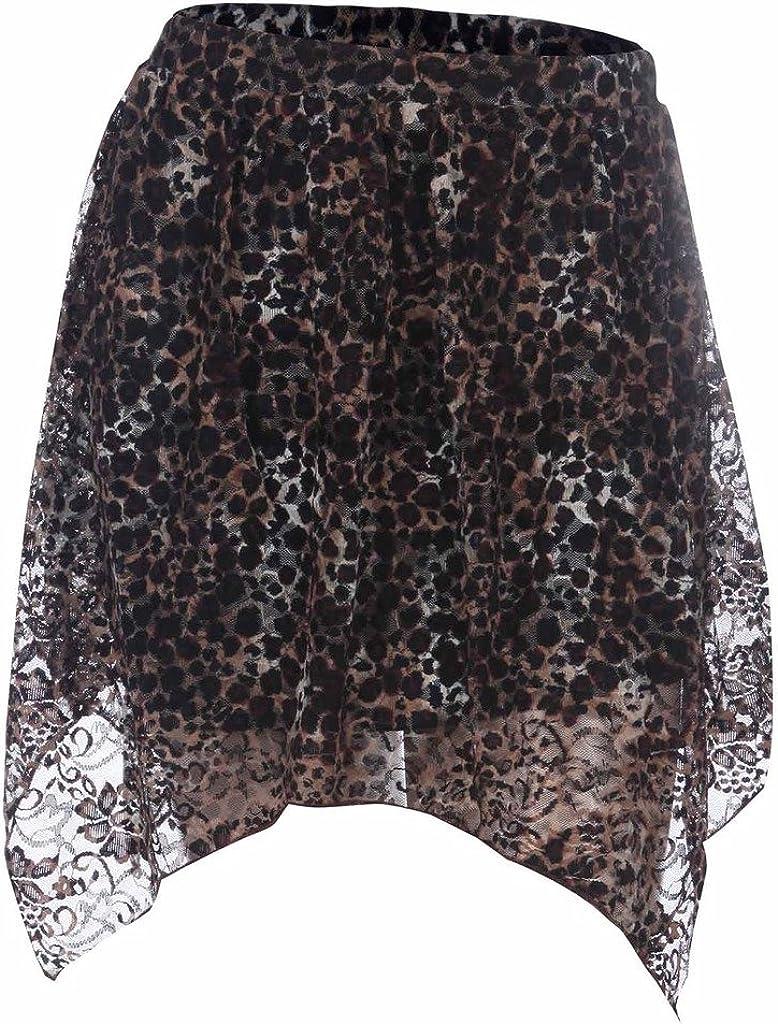 Ola Mari Leopard Lace Print...