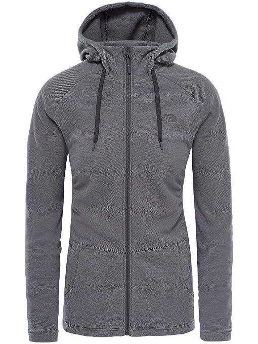 new product a657c 1623d The North Face Damen Jacke W Mezzaluna Full Zip Hoodie Eu