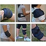 Easy Ice Cold / Hot Gel Packs with Belt. Multipurpose Usage: Knee/ Back/ Elbow/ Shoulder/ Leg/ Ankle.
