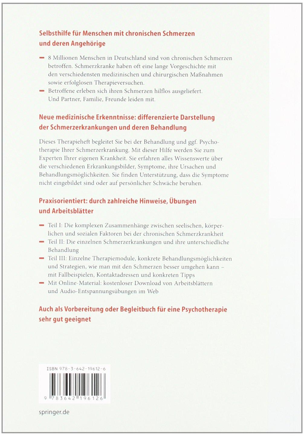 Chronische Schmerzen: Selbsthilfe und Therapiebegleitung ...