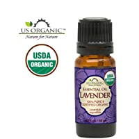 US Organic 100% Pure Lavender Essential Oil (Bulgarian) - USDA Certified Organic - 10 ml